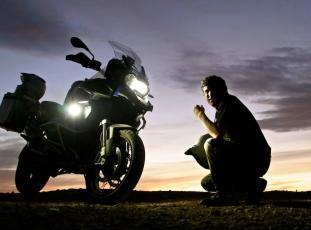 Encuentro en moto por Benasque con Gustavo Cuervo